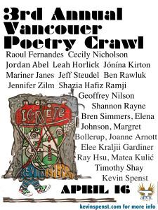 poetry crawl vancouver